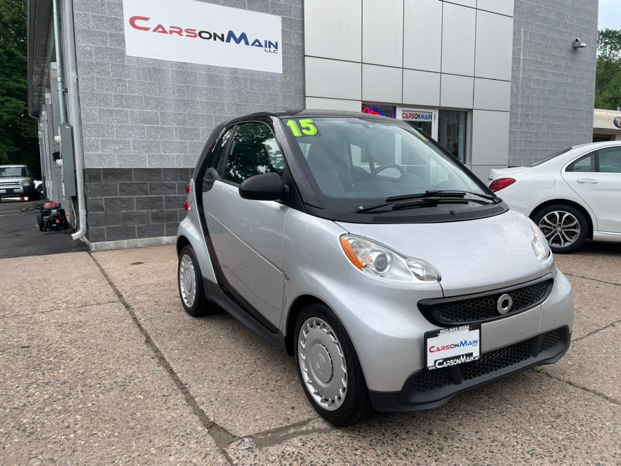 Used smart fortwo 2dr Cpe Passion 2015 | Carsonmain LLC. Manchester, Connecticut