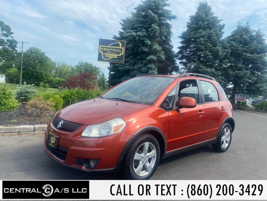 Used Suzuki SX4 5dr HB CVT Crossover Premium AWD 2011 | Central A/S LLC. East Windsor, Connecticut