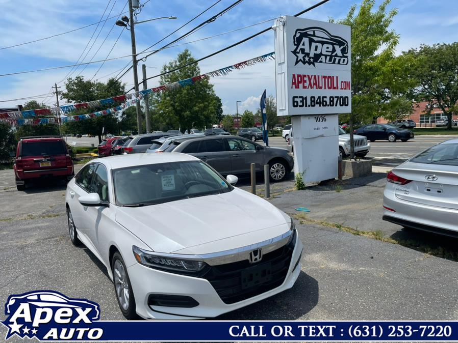 Used Honda Accord Sedan LX 1.5T CVT 2018 | Apex Auto. Selden, New York