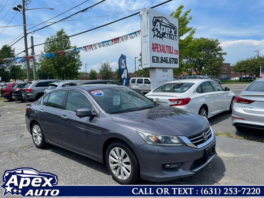 Used 2015 Honda Accord Sedan in Selden, New York | Apex Auto. Selden, New York