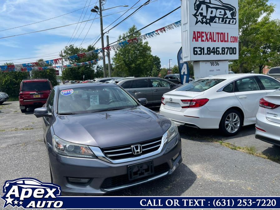 Used Honda Accord Sedan 4dr I4 CVT EX-L 2015   Apex Auto. Selden, New York