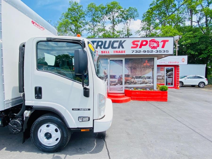 Used Isuzu NPR GAS REG 16 FEET DRY BOX + LIFT GATE + NO CDL 2016   NJ Truck Spot. South Amboy, New Jersey