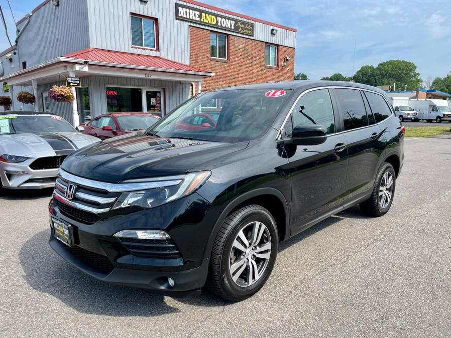 Used Honda Pilot AWD 4dr EX-L 2016 | Mike And Tony Auto Sales, Inc. South Windsor, Connecticut