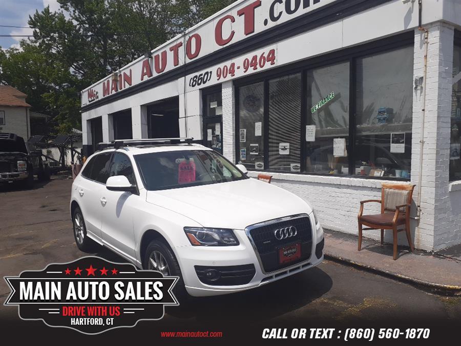 Used Audi Q5 quattro 4dr 3.2L Premium Plus 2009   Main Auto Sales LLC. Hartford, Connecticut