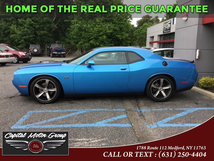 Used Dodge Challenger 2dr Cpe R/T Plus 2015   Capital Motor Group Inc. Medford, New York
