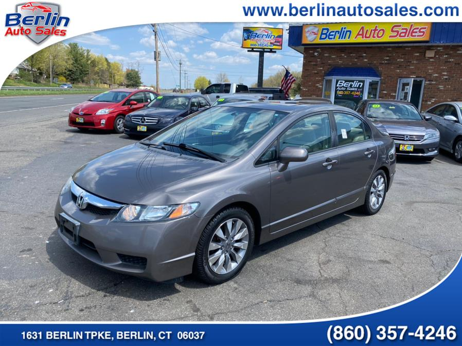 Used 2009 Honda Civic Sdn in Berlin, Connecticut | Berlin Auto Sales LLC. Berlin, Connecticut