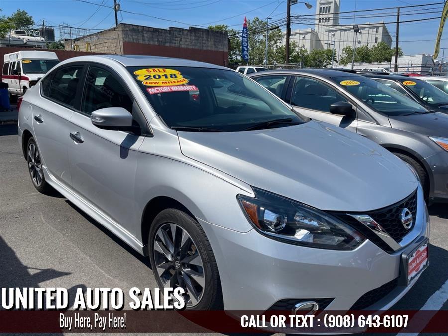 Used Nissan Sentra SR TURBO 2018 | United Auto Sale. Newark, New Jersey