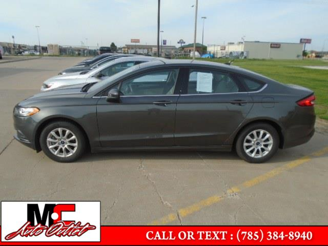 Used Ford Fusion S FWD 2018 | M C Auto Outlet Inc. Colby, Kansas