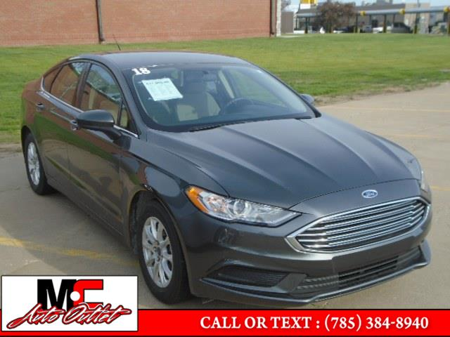 Used 2018 Ford Fusion in Colby, Kansas | M C Auto Outlet Inc. Colby, Kansas
