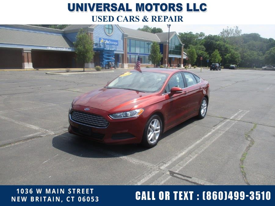 Used 2014 Ford Fusion in New Britain, Connecticut   Universal Motors LLC. New Britain, Connecticut