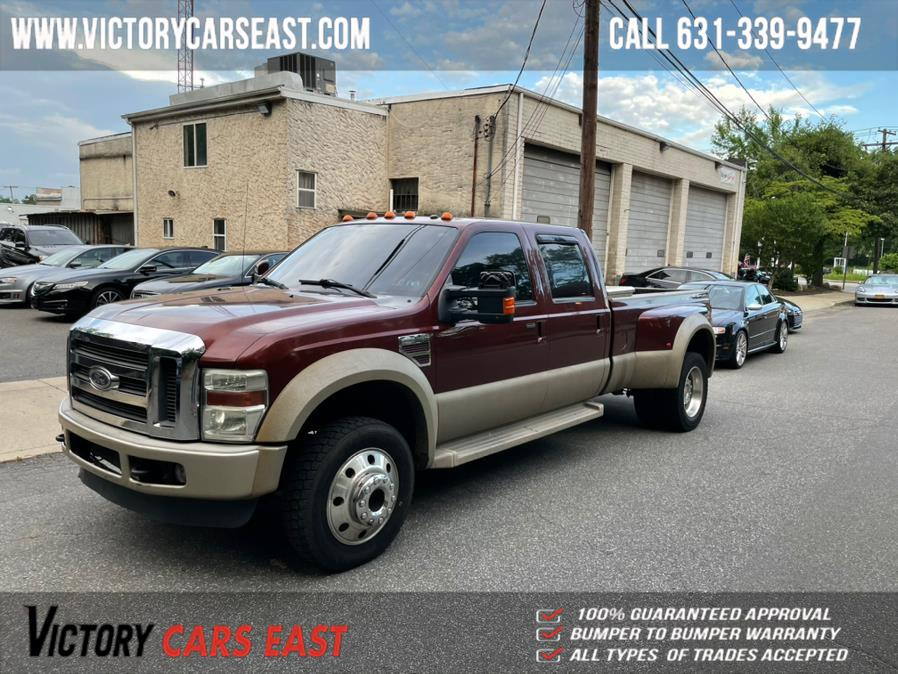 "Used Ford Super Duty F-450 DRW 4WD Crew Cab 172"" King Ranch 2008 | Victory Cars East LLC. Huntington, New York"