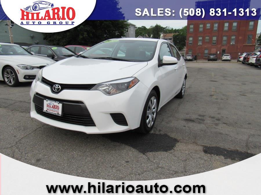 Used 2014 Toyota Corolla in Worcester, Massachusetts   Hilario's Auto Sales Inc.. Worcester, Massachusetts