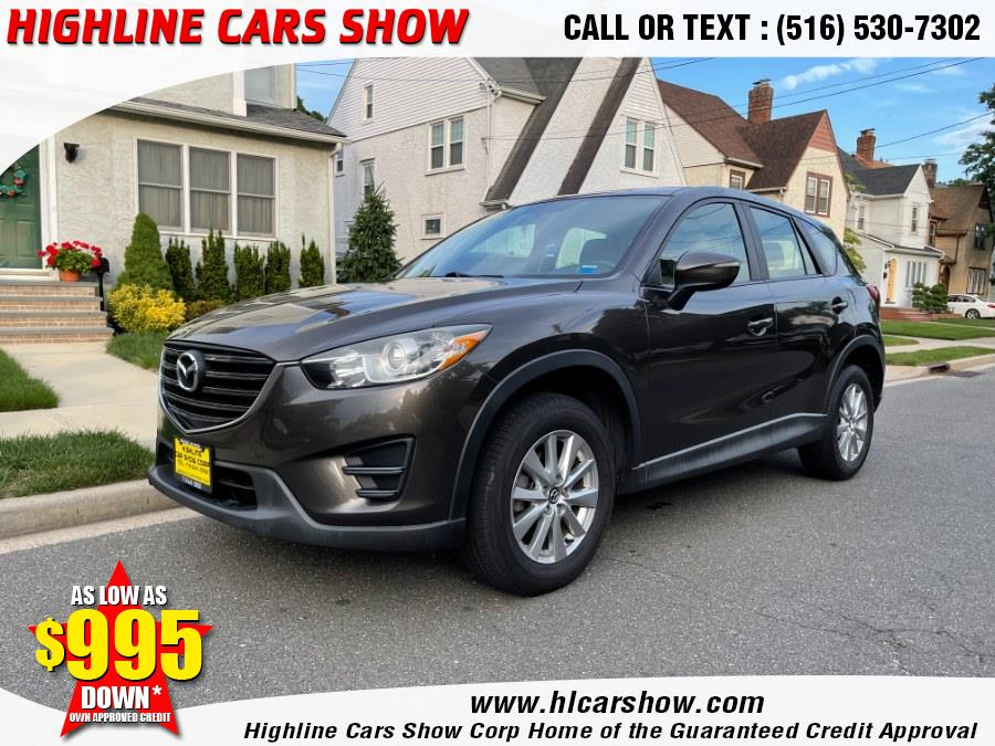 Used Mazda CX-5 2016.5 AWD 4dr Auto Sport 2016 | Highline Cars Show Corp. West Hempstead, New York