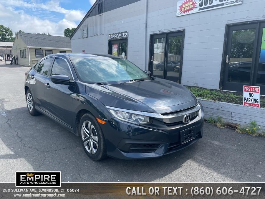 Used 2017 Honda Civic Sedan in S.Windsor, Connecticut | Empire Auto Wholesalers. S.Windsor, Connecticut