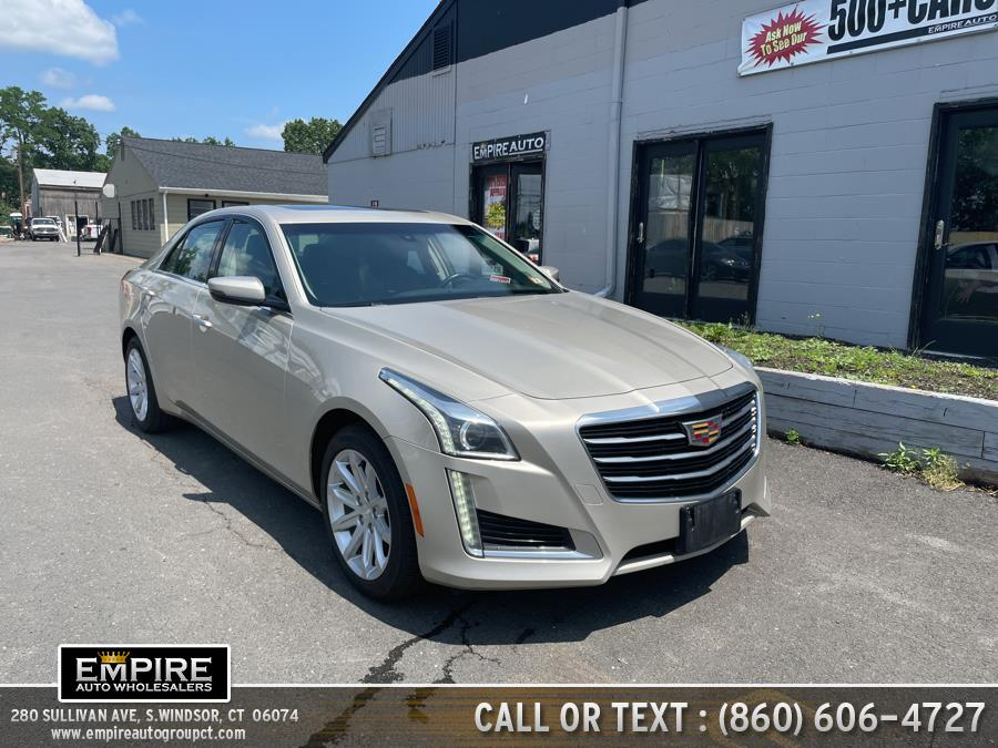 Used Cadillac CTS Sedan 4dr Sdn 2.0L Turbo AWD 2016   Empire Auto Wholesalers. S.Windsor, Connecticut