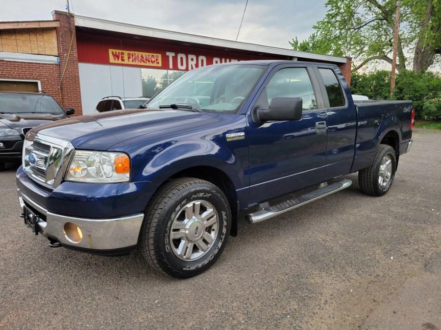 Used Ford F-150 4WD XLT Super Cab 5.4 V8 Triton 2008 | Toro Auto. East Windsor, Connecticut