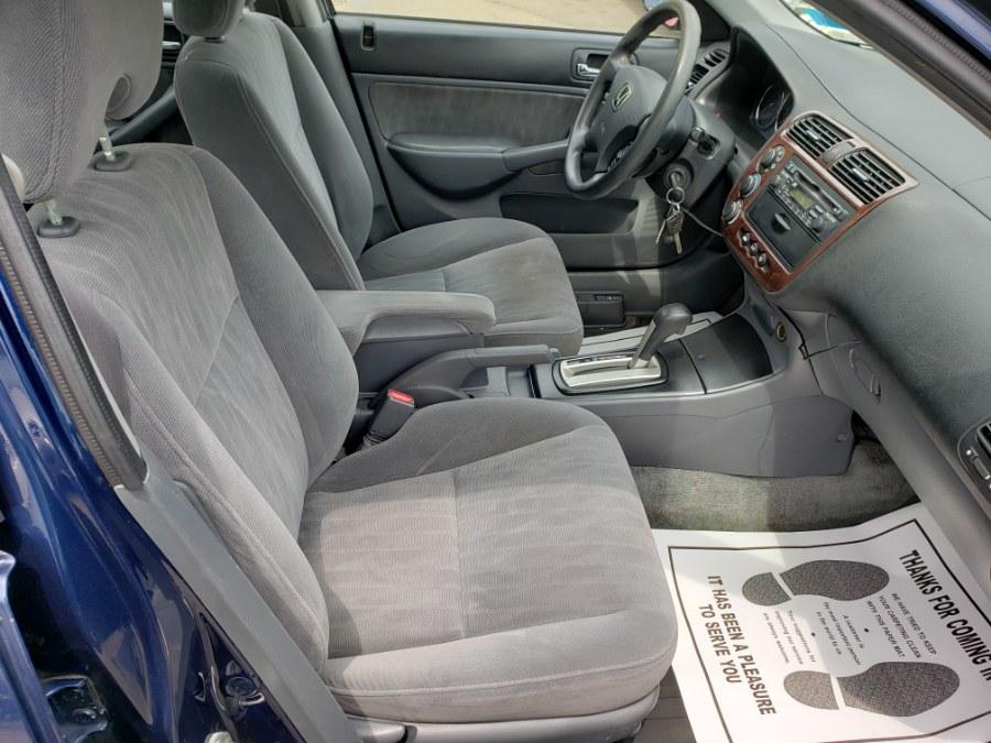 Used Honda Civic 4dr Sdn LX Auto w/Side Airbags 2004   ODA Auto Precision LLC. Auburn, New Hampshire