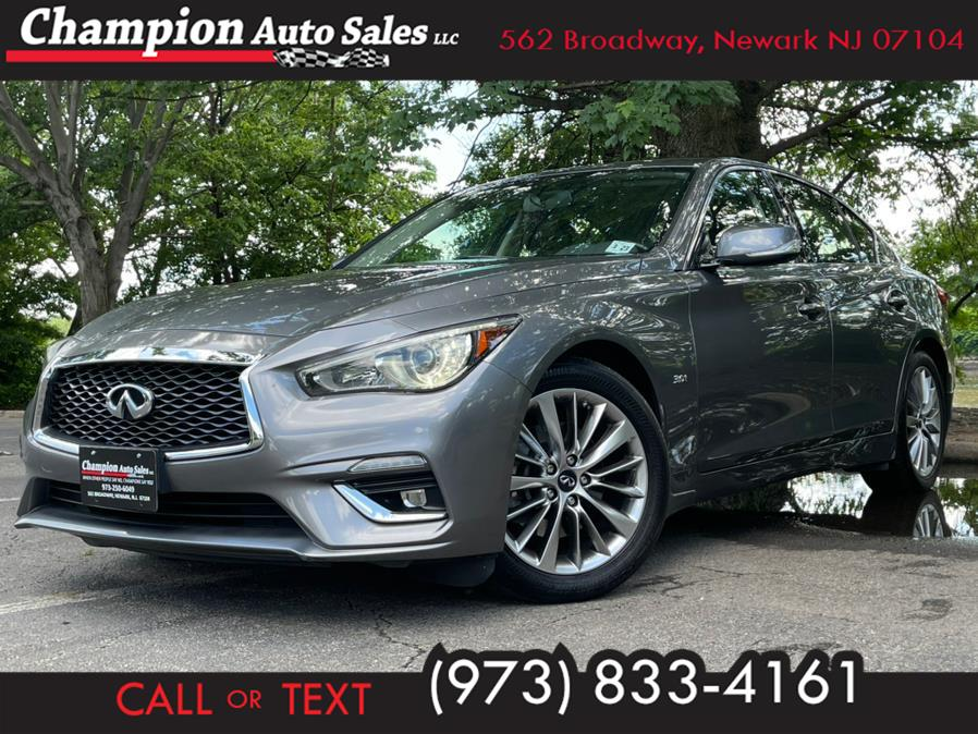 Used INFINITI Q50 3.0t LUXE AWD 2018   Champion Used Auto Sales 2. Newark , New Jersey