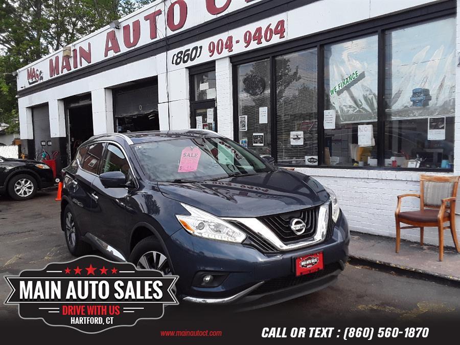 Used Nissan Murano AWD SL 2017   Main Auto Sales LLC. Hartford, Connecticut