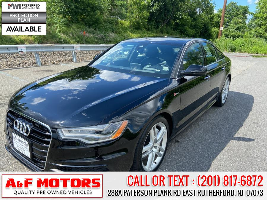 Used 2015 Audi A6 in East Rutherford, New Jersey | A&F Motors LLC. East Rutherford, New Jersey
