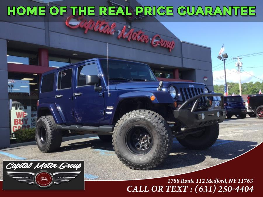 Used Jeep Wrangler Unlimited 4WD 4dr Moab *Ltd Avail* 2013 | Capital Motor Group Inc. Medford, New York