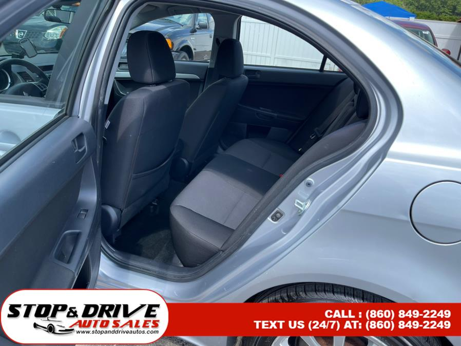Used Mitsubishi Lancer 4dr Sdn Man ES 2010   Stop & Drive Auto Sales. East Windsor, Connecticut