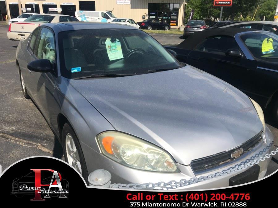 Used 2006 Chevrolet Monte Carlo in Warwick, Rhode Island | Premier Automotive Sales. Warwick, Rhode Island