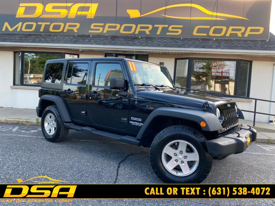 Used 2011 Jeep Wrangler Unlimited in Commack, New York | DSA Motor Sports Corp. Commack, New York