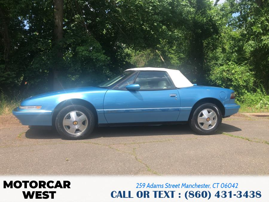Used Buick Reatta 2dr Convertible 1990 | Motorcar West. Manchester, Connecticut