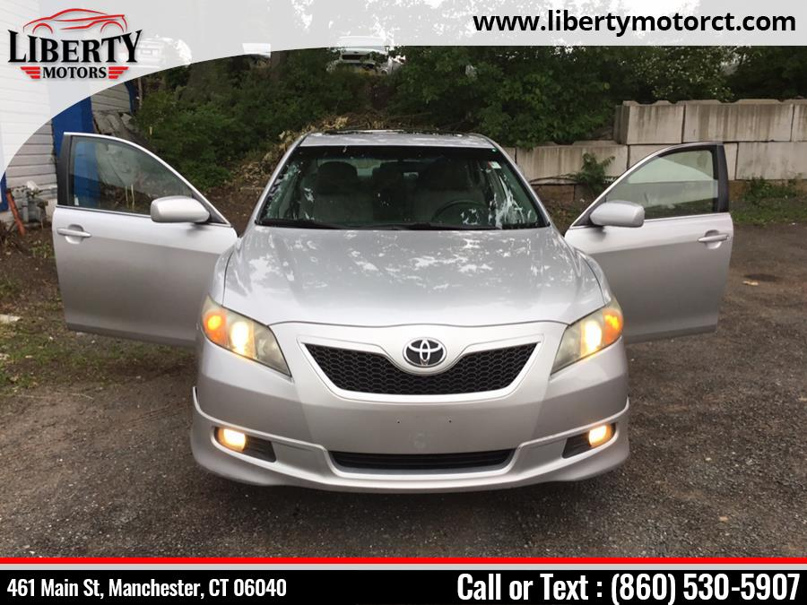 Used Toyota Camry 4dr Sdn I4 Auto SE (Natl) 2008 | Liberty Motors. Manchester, Connecticut