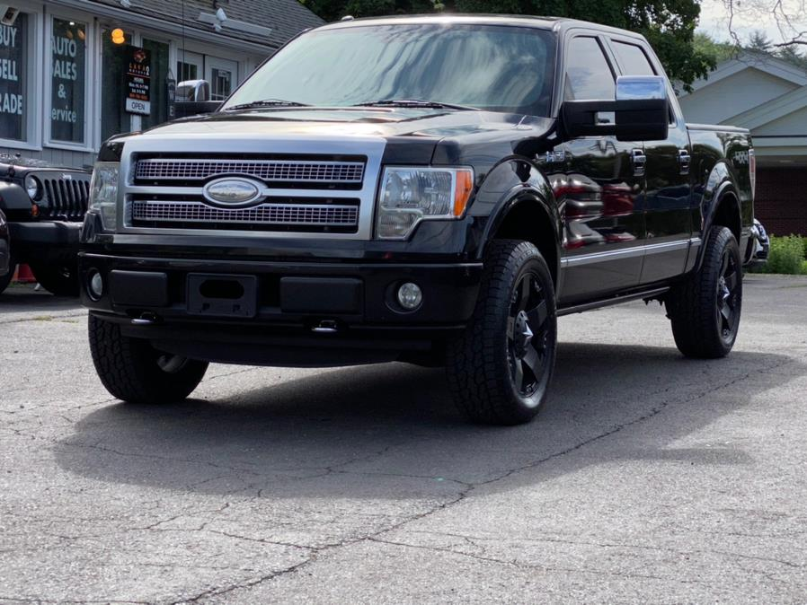 """Used Ford F-150 4WD SuperCrew 145"""" Platinum 2012   Lava Motors 2 Inc. Canton, Connecticut"""