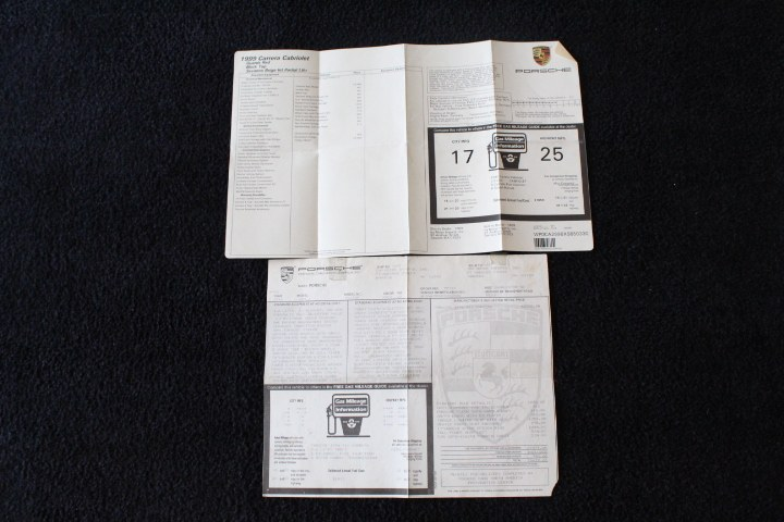 Used Porsche 911 Carrera 2dr Carrera Cabriolet 6-Spd Manual 1999   New England Auto Sales LLC. Plainville, Connecticut