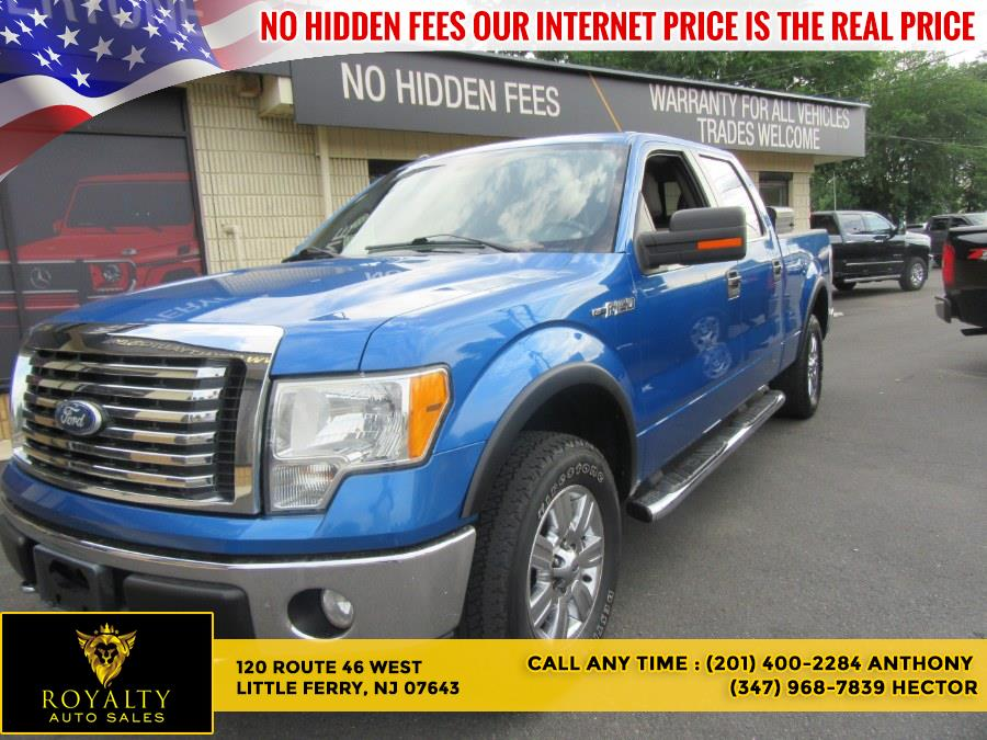 """Used Ford F-150 4WD SuperCrew 157"""" XLT 2010   Royalty Auto Sales. Little Ferry, New Jersey"""