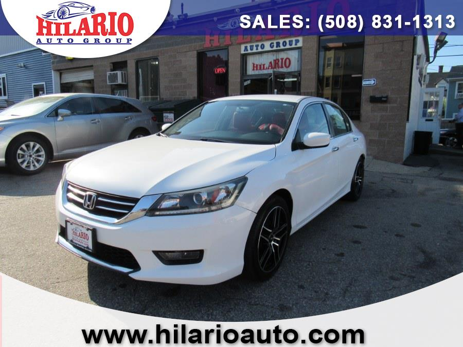 Used 2015 Honda Accord Sedan in Worcester, Massachusetts | Hilario's Auto Sales Inc.. Worcester, Massachusetts
