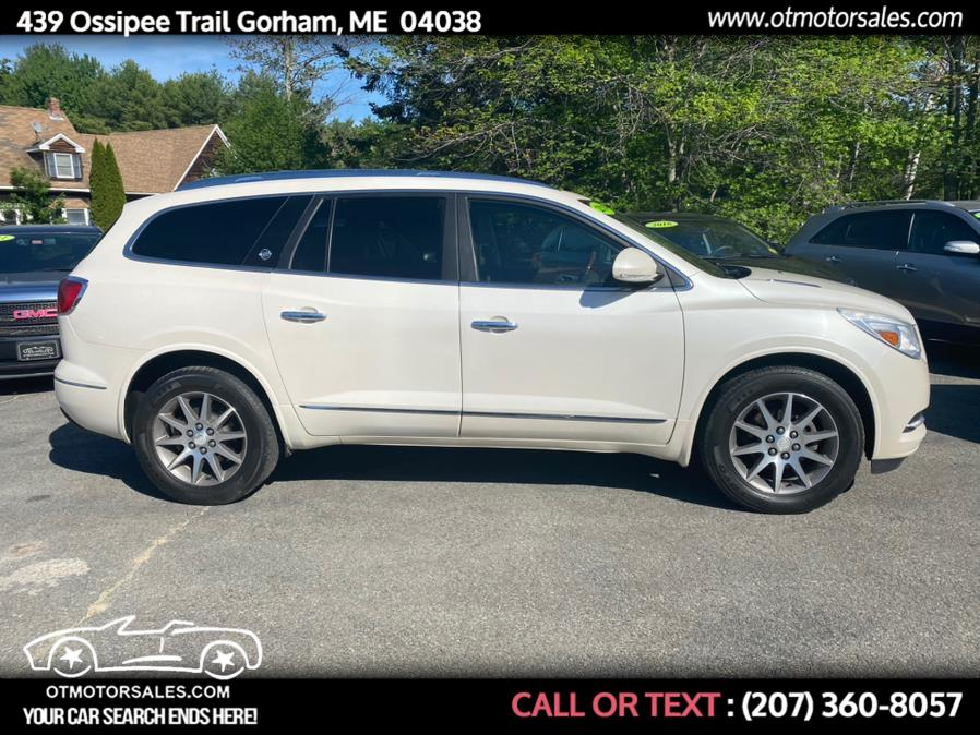 Used Buick Enclave AWD 4dr Leather 2014   Ossipee Trail Motor Sales. Gorham, Maine