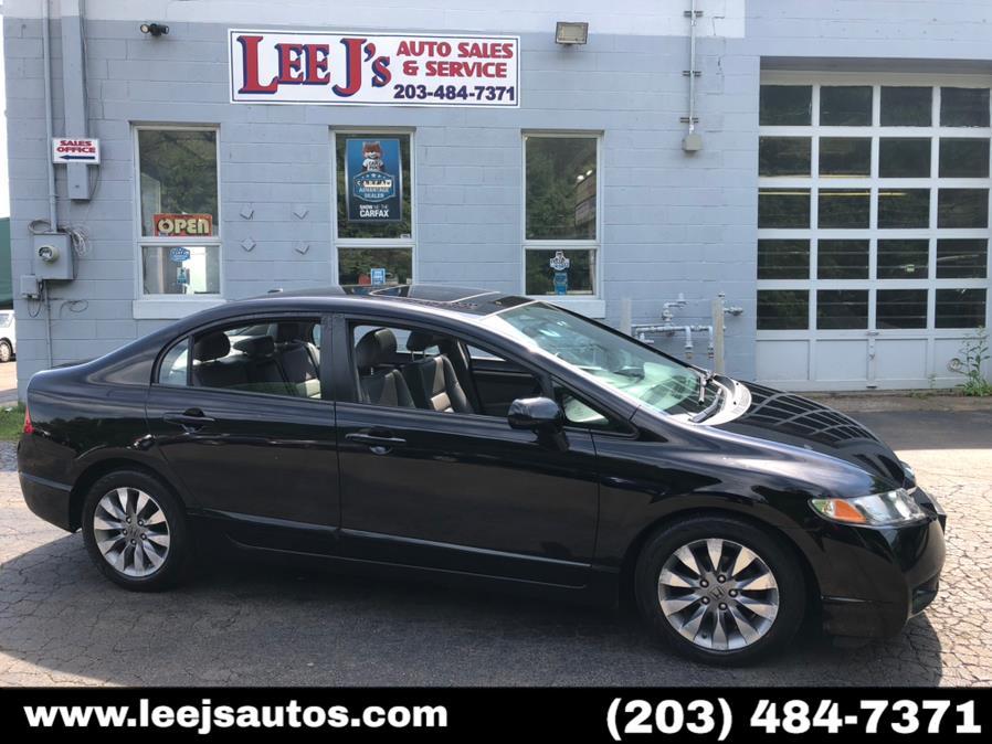 Used 2009 Honda Civic Sdn in North Branford, Connecticut   LeeJ's Auto Sales & Service. North Branford, Connecticut