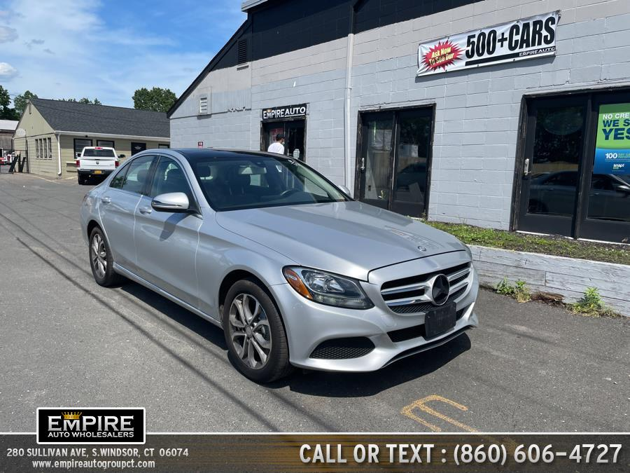 Used 2016 Mercedes-Benz C-Class in S.Windsor, Connecticut | Empire Auto Wholesalers. S.Windsor, Connecticut