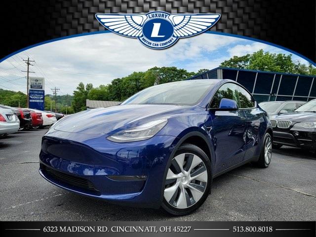 Used 2020 Tesla Model y in Cincinnati, Ohio | Luxury Motor Car Company. Cincinnati, Ohio