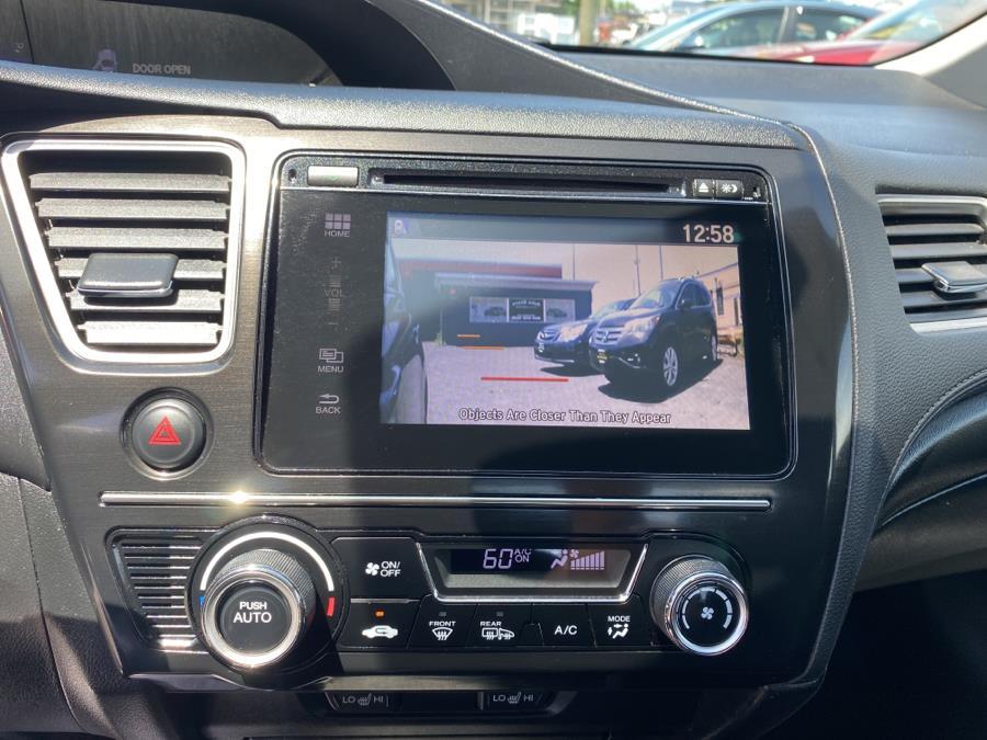 Used Honda Civic Sedan 4dr CVT EX-L w/Navi 2015 | Auto Store. West Hartford, Connecticut