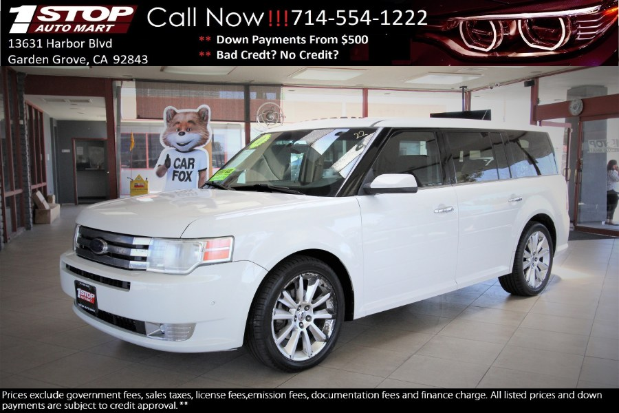 Used Ford Flex 4dr SEL AWD w/Ecoboost 2010 | 1 Stop Auto Mart Inc.. Garden Grove, California
