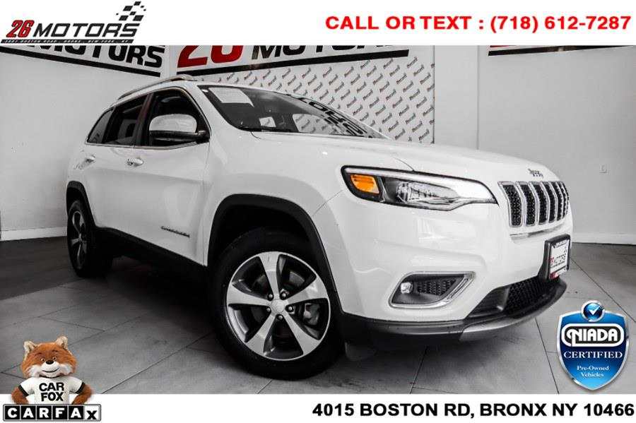 Used Jeep Cherokee Limited 4x4 2019 | 26 Motors Corp. Bronx, New York