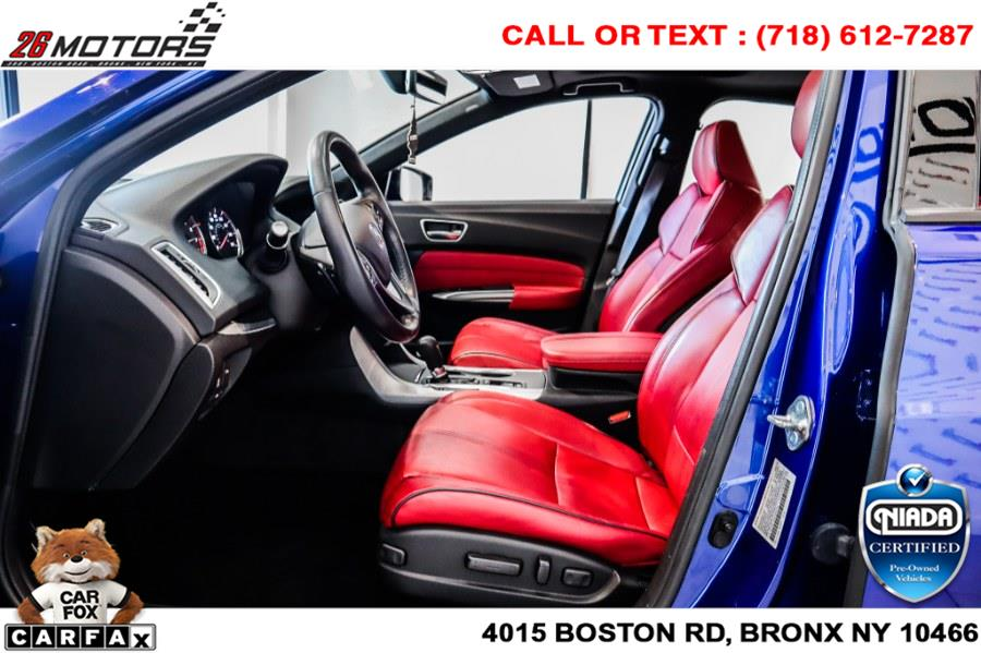 Used Acura TLX 2.4L FWD w/A-Spec Pkg Red Leather 2019   26 Motors Corp. Bronx, New York
