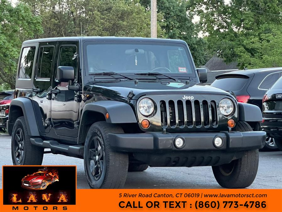 Used 2012 Jeep Wrangler Unlimited in Canton, Connecticut | Lava Motors. Canton, Connecticut