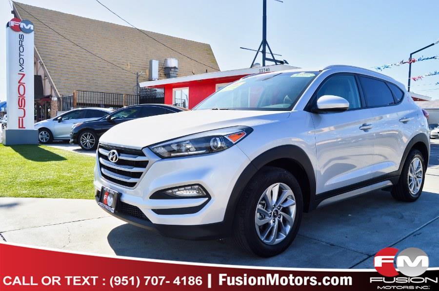 Used Hyundai Tucson SE FWD 2017 | Fusion Motors Inc. Moreno Valley, California