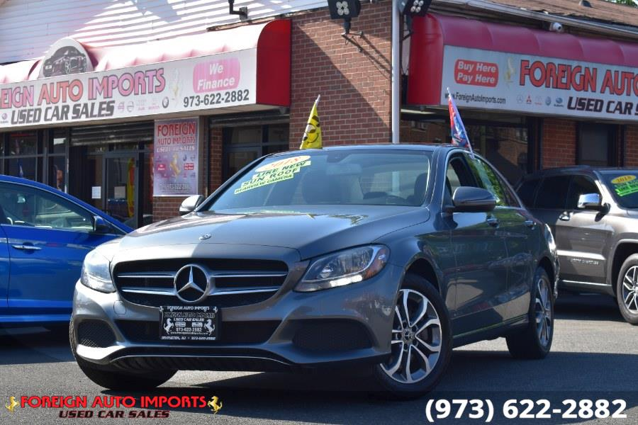 Used 2018 Mercedes-Benz C-Class in Irvington, New Jersey | Foreign Auto Imports. Irvington, New Jersey