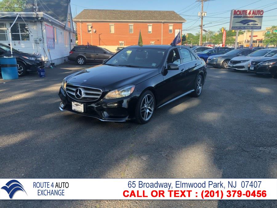 Used Mercedes-Benz E-Class 4dr Sdn E350 Luxury 4MATIC 2015 | Route 4 Auto Exchange. Elmwood Park, New Jersey
