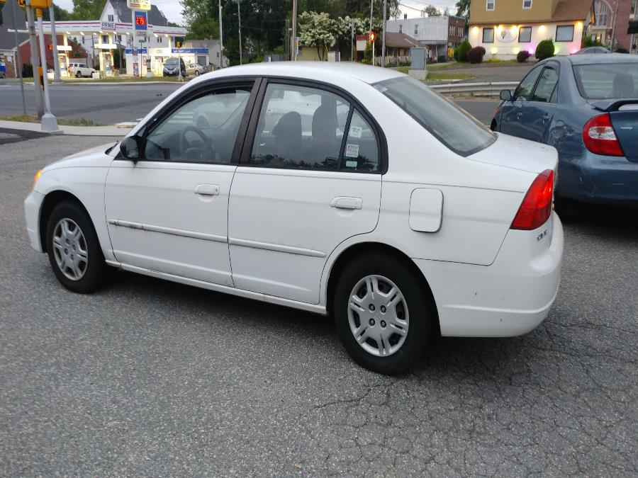 Used Honda Civic 4dr Sdn LX Auto 2002 | Matts Auto Mall LLC. Chicopee, Massachusetts
