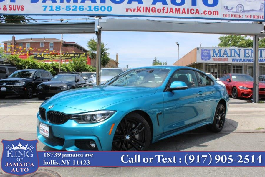 Used BMW 4 Series 430i xDrive Coupe 2018 | King of Jamaica Auto Inc. Hollis, New York