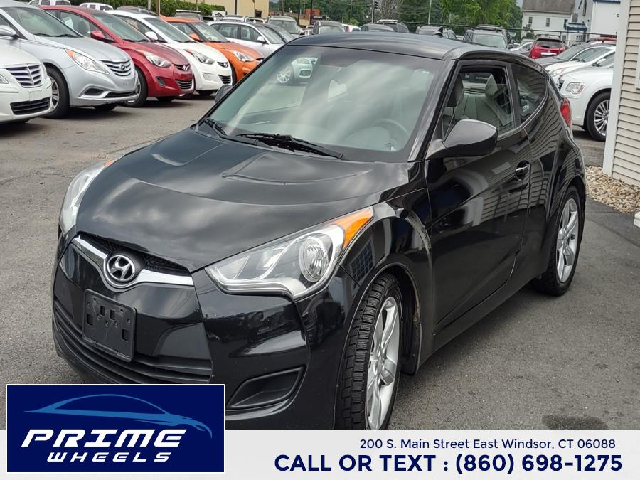 Used Hyundai Veloster 3dr Cpe Auto w/Black Int 2012   Prime Wheels. East Windsor, Connecticut
