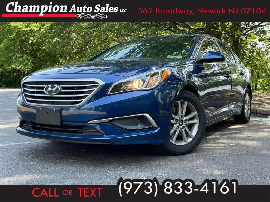 Used 2017 Hyundai Sonata in Newark, New Jersey | Champion Auto Sales. Newark, New Jersey